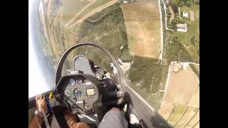 Having fun on a glider (aerobatics and more) with a Gopro