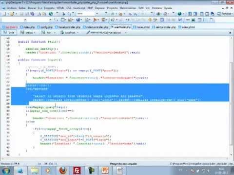 VideoTutorial 3 del Taller Práctico de PHP y MySQL