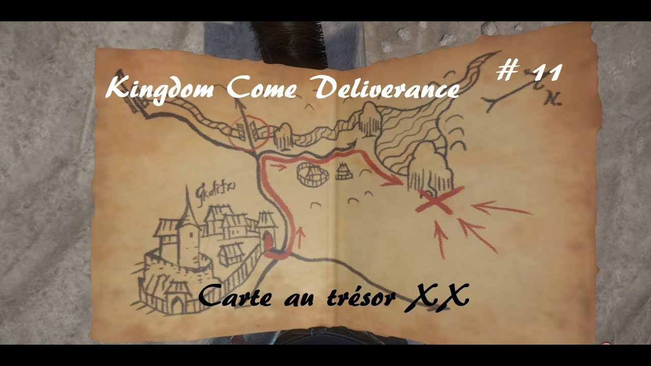 Carte Au Tresor 3 Kingdom Come.Kingdom Come Deliverance Carte Au Tresor Xx