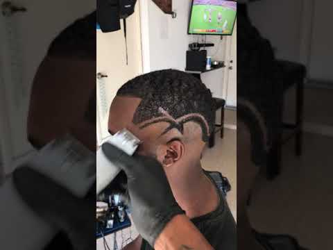 Haircut Design W Cordless Andis T Outliners Youtube