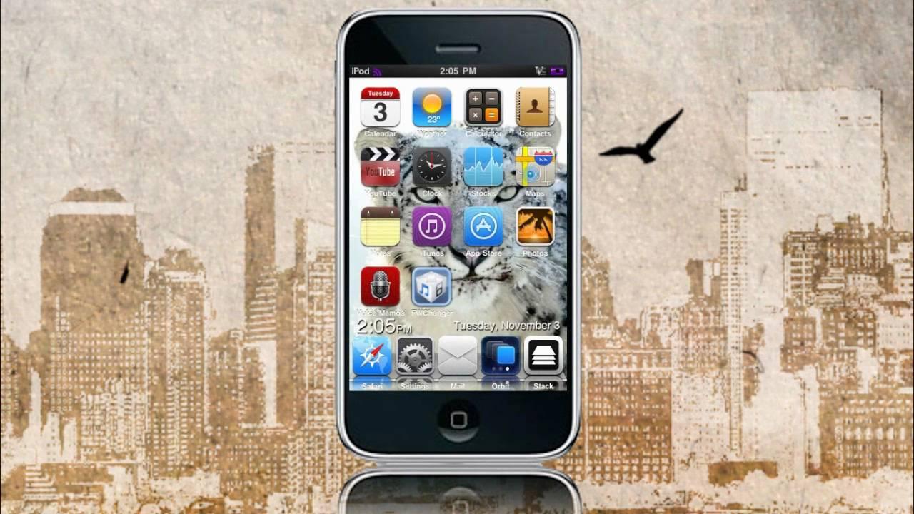 fwchanger iphone 3g