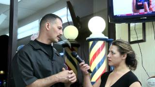 Robert  Vella talks history of Santa Clara Sports Barbershop in Hayward,Ca.