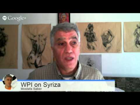 Syriza Party And Worker-communist Party of Iran