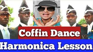 Coffin Dance/Harmonica Lesson/ English & Hindi/Coffin Dance Meme mouth organ lesson tabs/Astronomia
