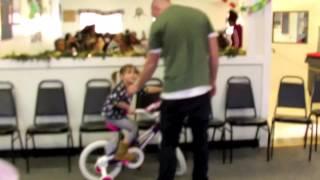 Turning Wheels, I got a bike for Christmas