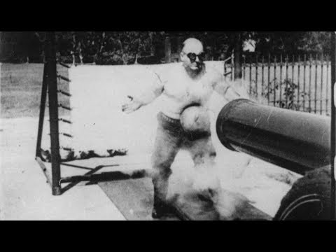 The Man Who Could Take A Cannonball To The Stomach