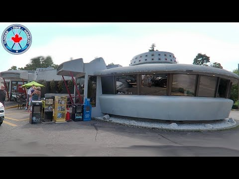 Flying Saucer Restaurant! Niagara Falls, Canada