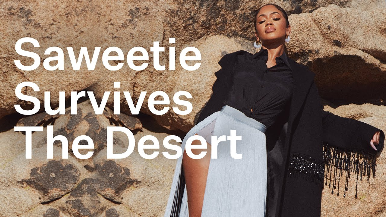 """Saweetie's """"The Icy Life"""" Behind The Scenes Of Her Elite Daily Photo Shoot 