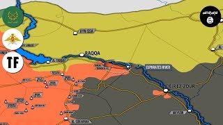 28 августа 2017. Военная обстановка в Сирии. ВКС РФ и сирийская армия уничтожили более 800 игиловцев