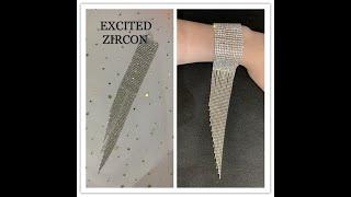 Женский винтажный браслет в богемном стиле изящные сексуальные стразы блестящий с кристаллами