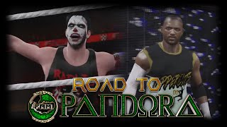 FaM: Road to Pandora - Rafazo vs Frisco - MITB Tournament (WWE 2K16)
