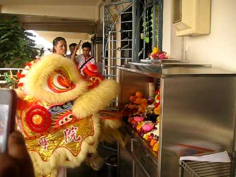CNY Lion Dance 2012 AT ZAKTI CONSULTANCY