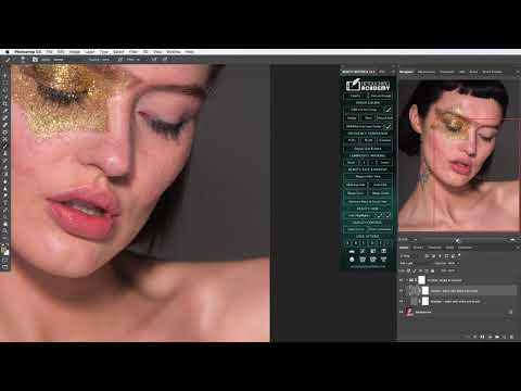 BEAUTY RETOUCH Panel:  Dodge & Burn Scripts & Brushes Overview