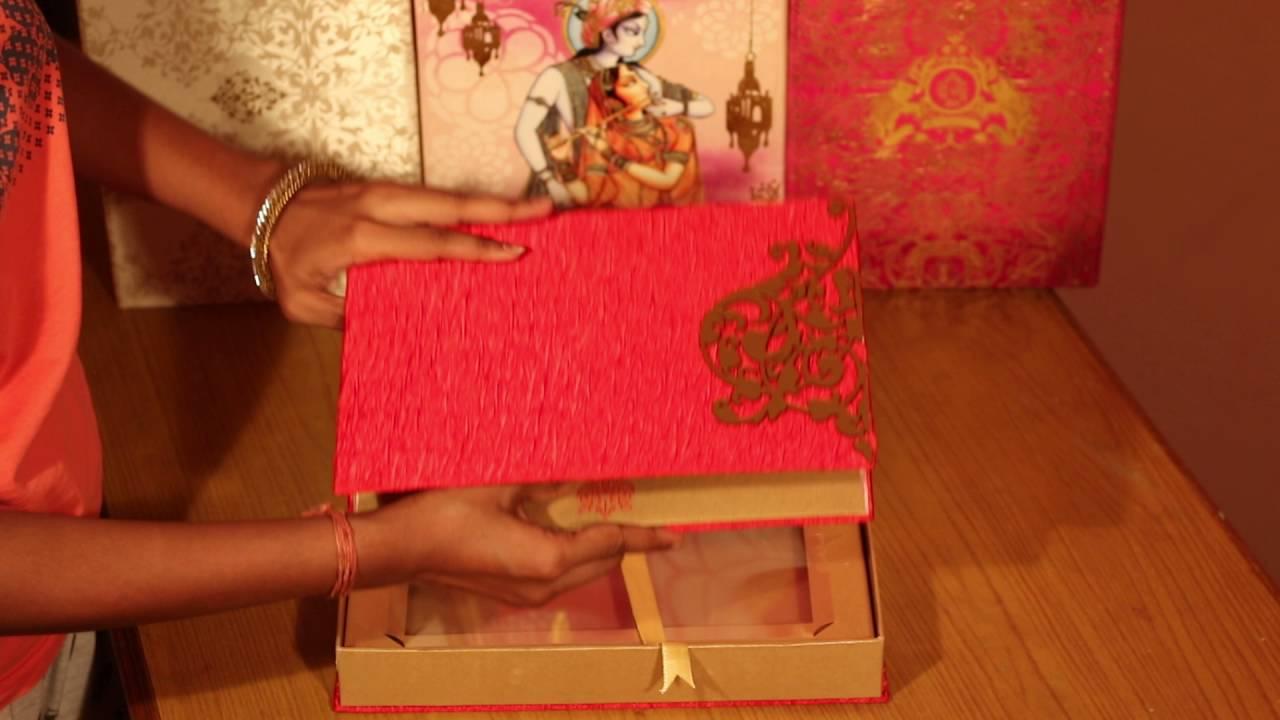 That1Card - Box Cards | Wedding Invitations | KWC0066 - YouTube