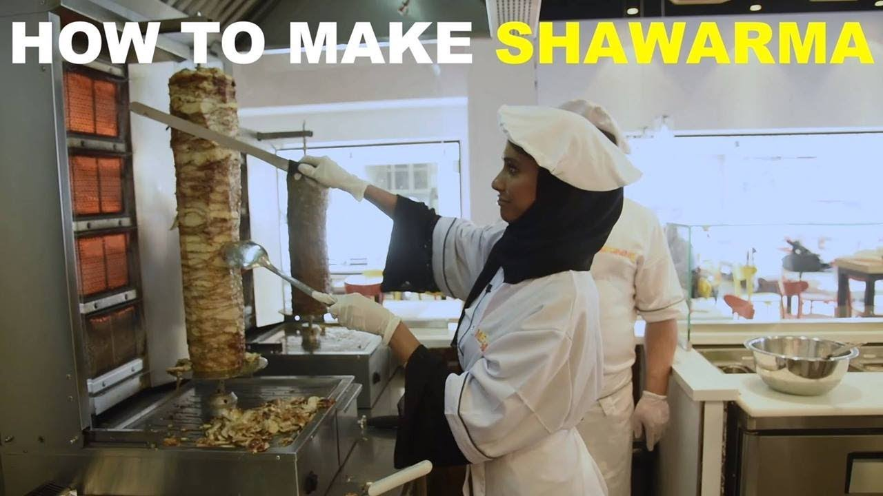 HOW TO MAKE SHAWARMA