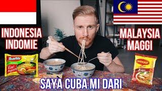SAYA CUBA MI DARI INDONESIA (INDOMIE) v MALAYSIA (MAGGI) DAN SAYA CUBA BERCAKAP BAHASA MELAYU