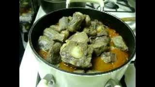 Oxtail Stew And Liver