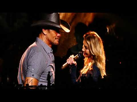 Break First & Banter & Telluride - Faith Hill & Tim McGraw Soul2Soul Sunrise Florida 10-19-2017
