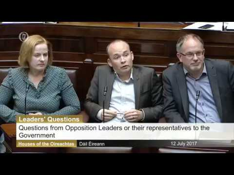 Paul Murphy & Leo Varadkar clash over call for Jobstown trial inquiry
