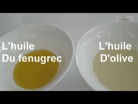 Comment faire de l'huile de fenugrec maison  pour  grossir  les fesses  et les seins