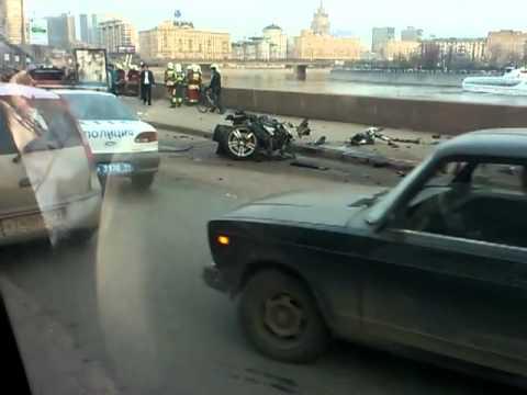 ДТП краснопресненская наб, 14,04,2012