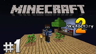 Minecraft Sky Factory 2 Lietuviškai #1