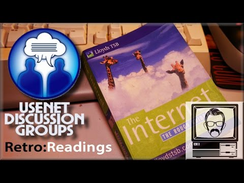 Usenet News Groups/Discussion Groups [Retro Reading #1] | Nostalgia Nerd
