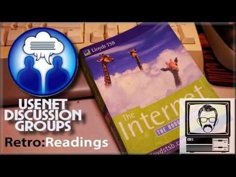 Usenet News Groups/Discussion Groups [Retro Reading #1] | Nostalgia Nerd