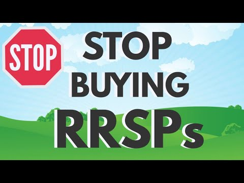 4 Reasons To Avoid RRSPs - RRSP vs TFSA vs Non Registered Ac