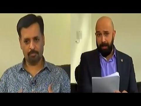 Mahaaz 18 September 2016 - Wajahat S Khan With Mustafa Kamal at District Central