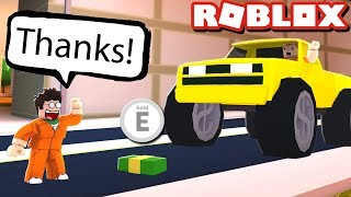 JAILBREAK UBER IN ROBLOX