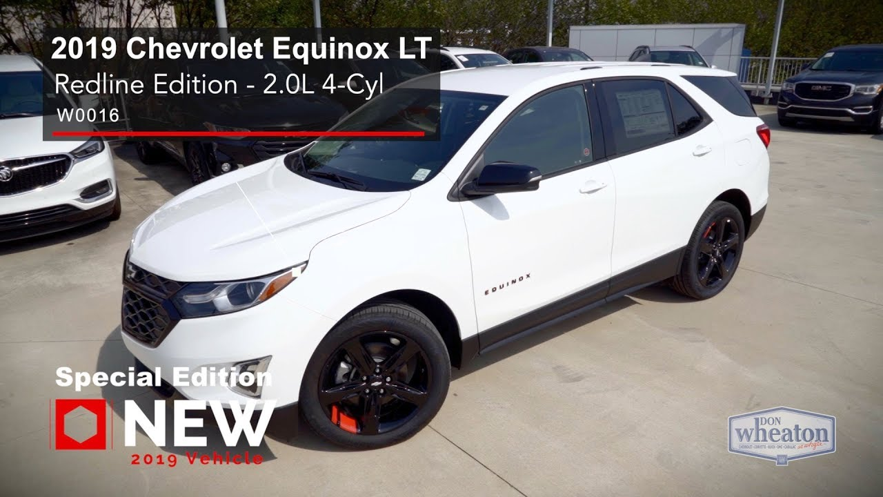 2019 Chevrolet Equinox Lt Redline Edition Walkaround Youtube