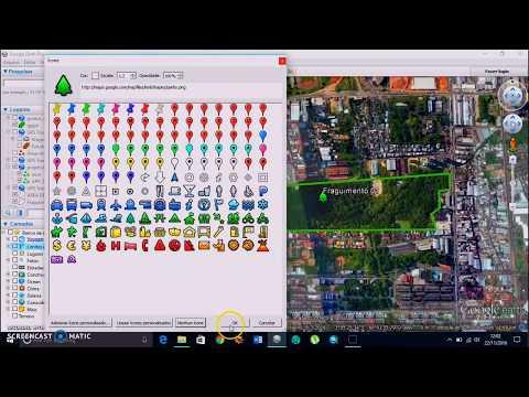 Como delimitar área no Google Earth