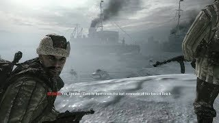Awesome Winter Mission from FPS Game Call of Duty Black Ops