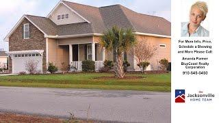 202 Blue Creek Farms Drive, Jacksonville, NC Presented by Amanda Parmer.
