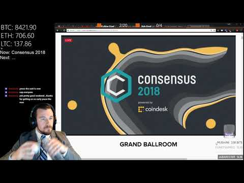 CONSENSUS 2018 Day 1 Coverage & Commentary