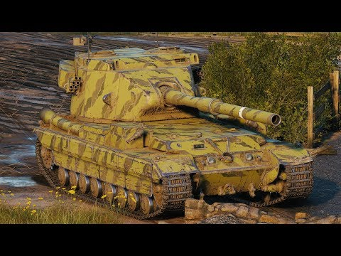 World of Tanks FV215b (183) - 7 Kills 12K Damage