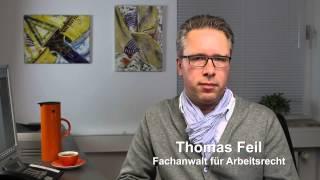 Verhaltensbedingte Kündigung - Informationen von Fachanwalt für Arbeitsrecht Thomas Feil