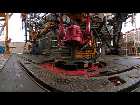 West Aquila Drillship Multi Machine Control Automatic Stand Building (360 View)