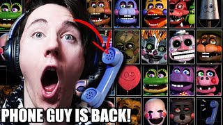 "THE FINAL 20... PHONE GUY?! || ""ULTIMATE"" CUSTOM NIGHT FOR FNAF 6 IS COMING"
