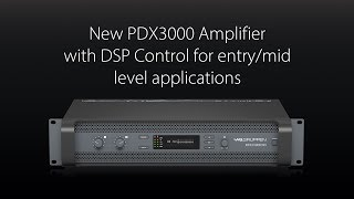 New Lab.gruppen PDX3000 Amplifier with DSP Control – Powered Simplicity