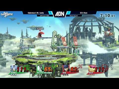 AON Smash 4 #067 Cyberman65 & Mr  Lucky Vs DZ & Soan Winners Round 2