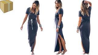 обзор на женское платья с алиэкспресс -одежа с aliexpress