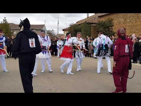 Danzantes a San Blas.Villamandos