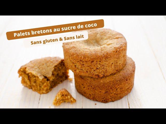 🥥 PALETS BRETONS AU SUCRE DE COCO SANS GLUTEN 🥥