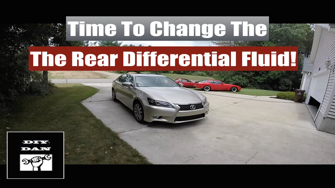 How To Change The Rear Differential Fluid In A Lexus GS350 and F