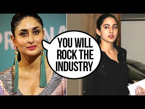 Kareena Kapoor AWESOME WORDS On Sara Ali Khan's Bollywood Debut thumbnail