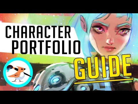 What to include in a Character Design Portfolio!