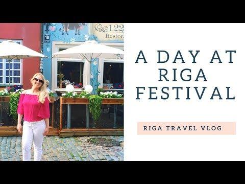 Riga Food Festival & Markets! | Riga Latvia Travel Vlog