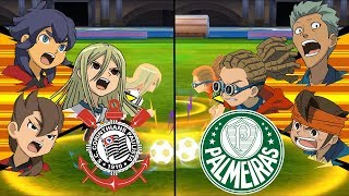 [Full HD 1080P] Inazuma Eleven Extra Match for Brasil ~ Corinthians vs Palmeiras